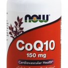 NOW Foods CoQ10 Cardiovascular Health 150mg - 100 Vegetarian Capsules