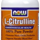 NOW Foods L-Citrulline Powder 4 ounce (Pack of 2)