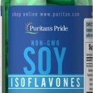 Puritan's Pride Non-GMO Soy Isoflavones 750 mg - 60 Rapid Release Capsules