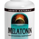 Source Naturals Melatonin1.0 Milligram Orange Flavor 100 Lozenges. Pack of 2