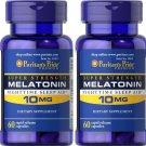 Puritan's Pride Melatonin 10 mg Puritan's Pride Melatonin 10mg 60 (2 Pack)