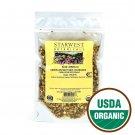 Starwest Botanicals Organic Dandelion Root Tea [4 Ounces] Bulk Cut & Sifted