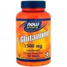 Now Foods Sports L-Glutamine 1,500 mcg 180 Tablets