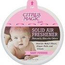 Citrus Magic Air Freshener Solid Baby Powder