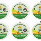 6x Citrus Magic Solid Air Freshener Fresh Citrus 8 oz