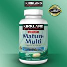 Kirkland Signature Mature Multi 400 Tablets *Adult 50+ Multi Vitamin & Mineral*