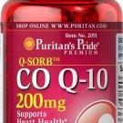 Puritan's Pride Q-SORB Co Q-10 200 mg - 30 Rapid Release Softgels