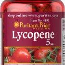 Puritan's Pride Lycopene 5 mg - 100 Softgels