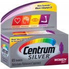 Centrum Silver Women Adult Age 50+ Multivitamin Supplement 65 Tablets