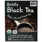 Boldly Black Tea Organic 25 Bags by Now Foods
