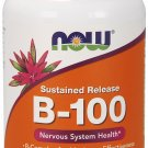 NOW Foods B-100 Sustained Release.100 Tablets