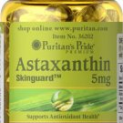 Puritan's Pride Natural Astaxanthin 5 mg - 30 Softgels