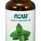 Spearmint Oil Organic 100% Pure Now Foods