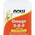 NOW Foods Omega 3-6-9 1000 mg - 100 Softgels