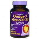 Natrol Omega-3 Flaxseed Oil 1000mg 90 Softgels