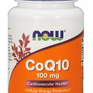 NOW Foods CoQ10 Cardiovascular Health with Hawthorn Berry 100mg - 30 Vcaps