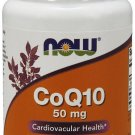 NOW Foods CoQ10 Cardiovascular Health w/ Selenium and Vitamin E 50mg - 50softgel