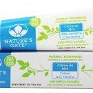Toothpaste Creme De Mint 6 Oz by Nature's Gate