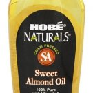 Hobe Labs Sweet Almond Oil 100% Pure with Vitamin E - 4 Fl Oz