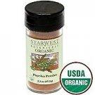 Organic Paprika Powder Jar 2.25 Oz - Starwest Botanicals