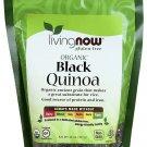 Organic Black Quinoa 14 oz By Now Foods
