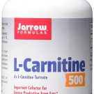 Jarrow Formulas L-Carnitine Tartrate For Brain Energy and Heart Support 500mg