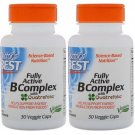 Best Fully Active B Complex 30 Vcaps by Doctors Best (Pack of 2)