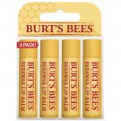 Burt's Bees 100% Natural Moisturizing Lip Balm Original Beeswax with Vitamin ...
