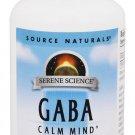 GABA 750mg Source Naturals, Inc. 90 Tabs