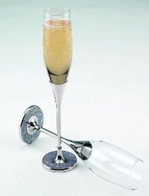 Elegant Glitter Galore Wedding Toasting