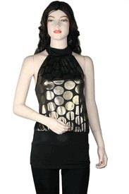 Halter Top # TH2524Gold