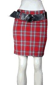 Skirt # S9305Red