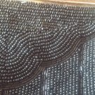 Vintage Walborg Black Beaded Evening Purse