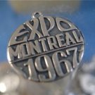 CHARM: vintage sterling 925 silver 1967 EXPO MONTREAL ISJC