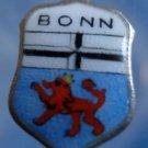 BONN Enamel & Sterling Silver Travel Shield Souvenir Charm 16490