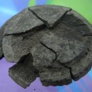 Primitive Mystical Phoenician Coal Coin Money : From Isle Of Purbeck  (66.160)