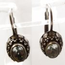 Lever Back Hook Earrings - FAS Sterling - Pale Blue Topaz Or Aqua