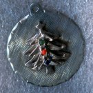 Vintage Charm : Signed Sterling - Christmas Tree w/ Ornaments