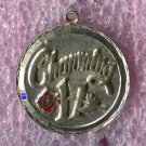 "Vintage ""Charming 17"" Birthday Charm :  Sterling 925 Silver"