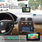 DASH CAM GPS DVR 7 INCH NAVIGATOR TOUCH SCREEN ANDROID TABLET ONE STOP SOLUTION