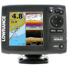 FISH FINDER CHART PLOTTER 5 INCH COLOR LOWRANCE ELITE-5 CHIRP TRANSDUCER SONAR