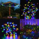 LIGHTS LED FAIRY COLOR SOLAR GARDEN BACKYARD DECORATIVE PATIO PARTY HEDGE TREE