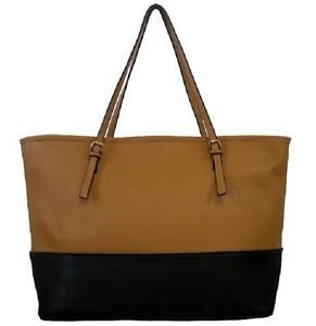 WOMANS LADIES BAGS TOTES SATCHEL CROSS BODY SYNTHETIC LEATHER INSIDE ZIP POCKET
