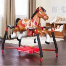 Rocking Horse Interactive Walking Trotting Galloping Sounds Safety Straps Xframe