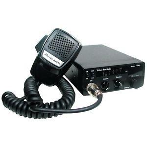 CB RADIO MOBILE 40-CHANNEL PA DIGITAL TUNING POWER METER 4 WATT OUTPUT RF GAIN
