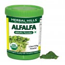Organic Alfalfa medicago sativa 3.5 oz/100 gms powder