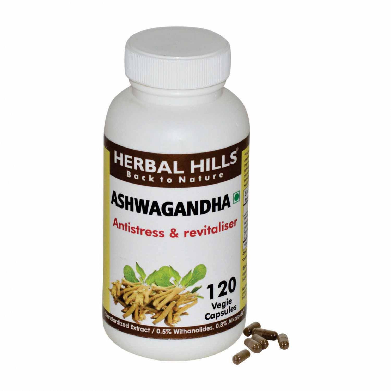 Ashwagandha withania somnifera 120 Vegie capsules