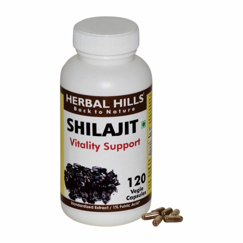 Shilajit Bitumen Mineral Asphaltum Asphalt Mineral Pitch Jew's Pitch 120 Vegie Capsules