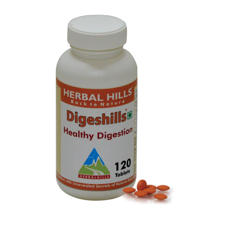 Digeshills 120 Tablets - Healthy Digestion