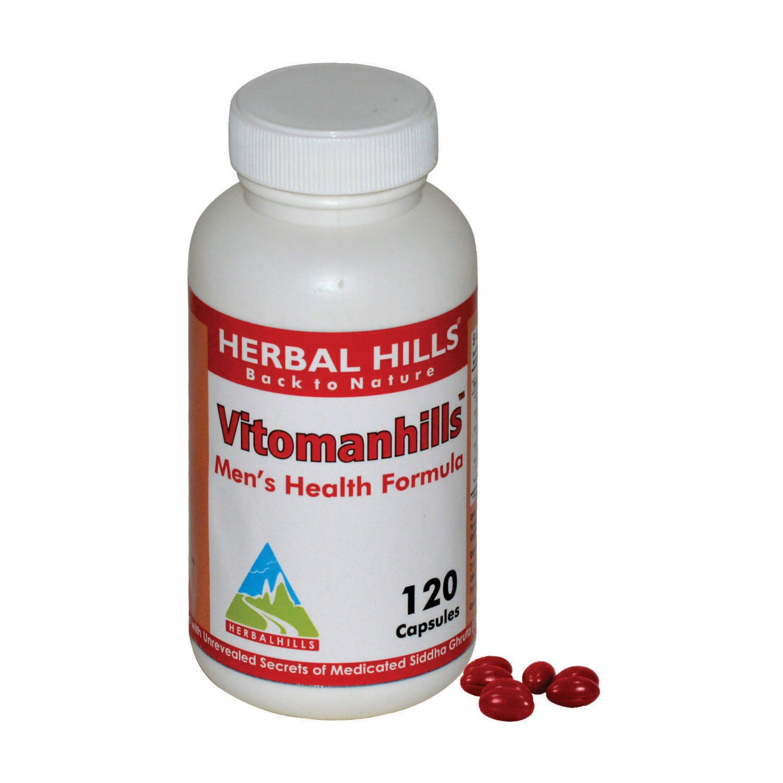 Vitomanhills - Mens Health Formula 120 capsules